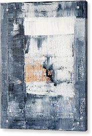 Abstract Painting No.5 Acrylic Print by Julie Niemela