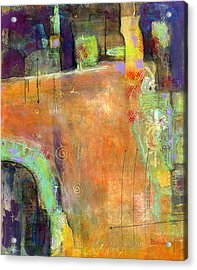 Abstract Painting Simple Pleasure Acrylic Print by Blenda Studio