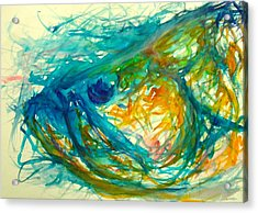 Abstract Poon  Acrylic Print by Yusniel Santos