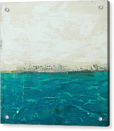 Abstract Seascape 02/14b Acrylic Print by Filippo B