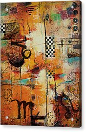 Abstract Tarot Art 010 Acrylic Print by Corporate Art Task Force