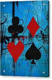 Abstract Tarot Art 012 Acrylic Print by Corporate Art Task Force