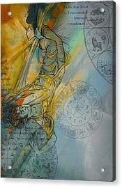 Abstract Tarot Art 015 Acrylic Print by Corporate Art Task Force