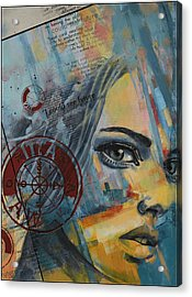 Abstract Tarot Art 022a Acrylic Print by Corporate Art Task Force