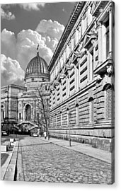 Academy Of Arts Dresden Acrylic Print by Christine Till