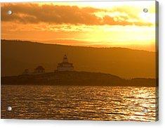 Acadia Lighthouse  Acrylic Print by Sebastian Musial