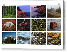 Acadia National Park Greetings Acrylic Print by Juergen Roth