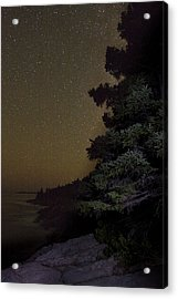 Acadia Stars 01 Acrylic Print by Brent L Ander
