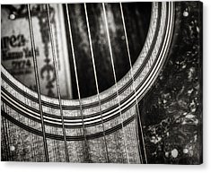 Acoustically Speaking Acrylic Print by Scott Norris