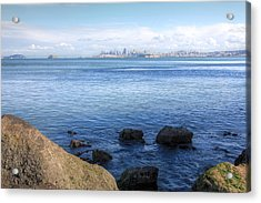 Across The Bay Acrylic Print by JC Findley