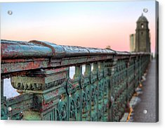 Across The Charles  Acrylic Print by JC Findley