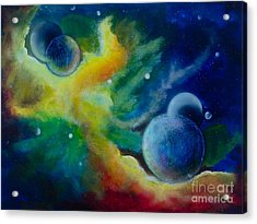 Across The Universe Acrylic Print by Deb Breton
