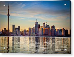 Across The Water Acrylic Print by Inge Johnsson