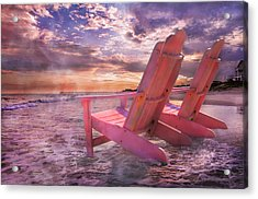 Adirondack Duo Acrylic Print by Betsy Knapp