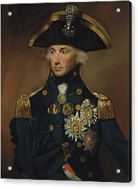Admiral Horatio Nelson Acrylic Print by War Is Hell Store