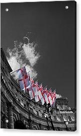Admiralty Arch London Acrylic Print by Mark Rogan