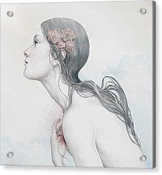 Adoration Acrylic Print by Diego Fernandez