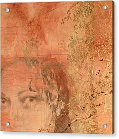 Adornment 2 Acrylic Print by Carlynne Hershberger
