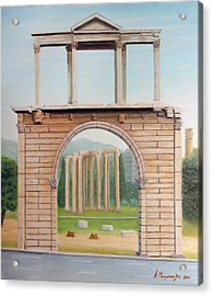Adrian's Gate Acrylic Print by Anastassios Mitropoulos