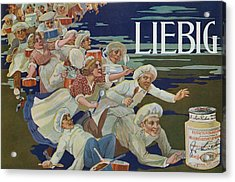 Advertisement For Extractum Carnis Liebig Acrylic Print by English School
