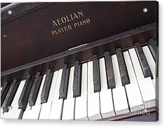 Aeolian Player Piano-3484 Acrylic Print by Gary Gingrich Galleries