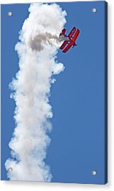 Aerial Acrobatics Display Acrylic Print by Jim West