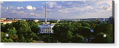 Aerial, White House, Washington Dc Acrylic Print by Panoramic Images