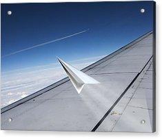Aerodynamics, Conceptual Artwork Acrylic Print by Science Photo Library
