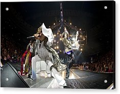 Aerosmith - On Stage 2012 Acrylic Print by Epic Rights
