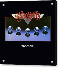 Aerosmith - Rocks 1976 Acrylic Print by Epic Rights