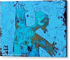Aetas No. 13 Acrylic Print by Mark M  Mellon