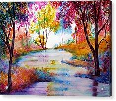 Affinity Acrylic Print by Ann Marie Bone