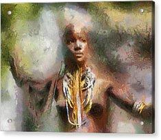 Africa Freedom Acrylic Print by Georgi Dimitrov