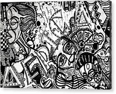 Africa Acrylic Print by Robert Daniels