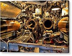 Aft Torpedo Tubes Acrylic Print by Jon Burch Photography