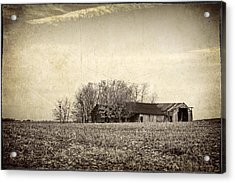 After The Harvest Acrylic Print by Jeff Burton
