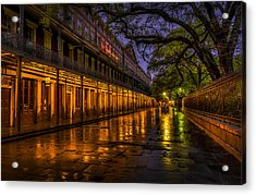 After The Rain Acrylic Print by David Morefield