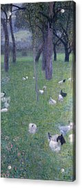 After The Rain Acrylic Print by Gustav Klimt