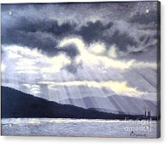 After The Storm Acrylic Print by Beverly Theriault