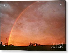 After The Storm Acrylic Print by Darren Fisher