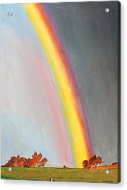 After The Storm Acrylic Print by Phillip Compton