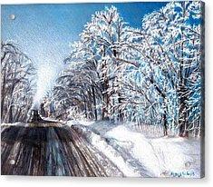 After The Storm Acrylic Print by Shana Rowe Jackson