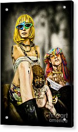 Afterlife - Mannequins Acrylic Print by Colleen Kammerer