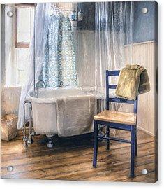 Afternoon Bath Acrylic Print by Scott Norris