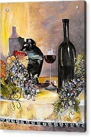 Afternoon Delight Acrylic Print by Arlen Avernian Thorensen