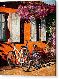 Afternoon Delight Acrylic Print by Lenore Crawford