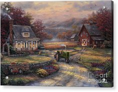 Afternoon Harvest Acrylic Print by Chuck Pinson