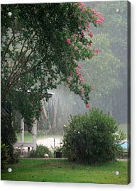 Afternoon Showers Acrylic Print by N S