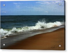 Afternoon Surf Acrylic Print by Forest Stiltner