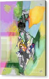 Self-renewal 11cf Acrylic Print by David Baruch Wolk